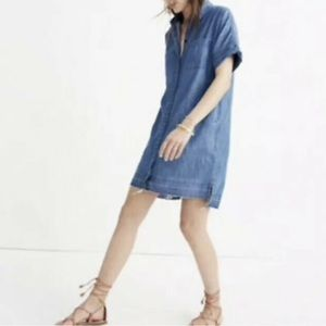 NWT madewell denim dress medium